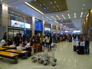 สนามบิน อินชอน ตอนเช้า