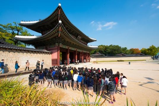 Donhwamun ประตูหลักของพระราชวัง